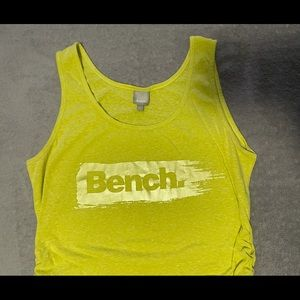 Bench tank size large ruched sides